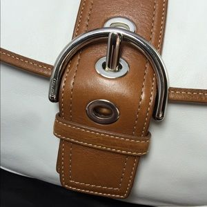 Coach Bags - Coach NEW leather shoulder bag with silk dust bag